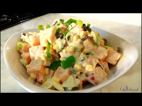 Jamaican Sweet Potato Salad Recipes | Recipes By Chef Ricardo