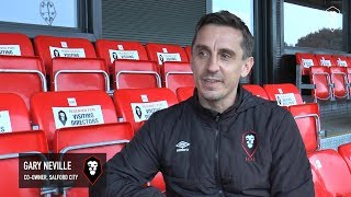 Co-owner Gary Neville discusses the investment at the club