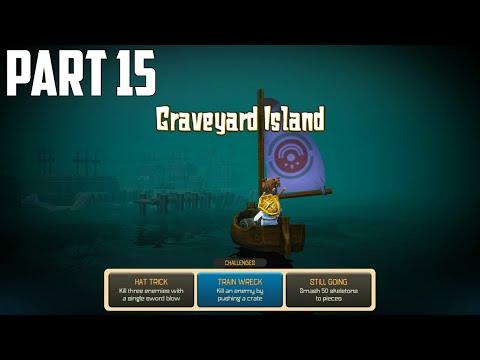 Oceanhorn: Monster Of Uncharted Seas - 100% Walkthrough Part 15 [PS4] –  Graveyard Island