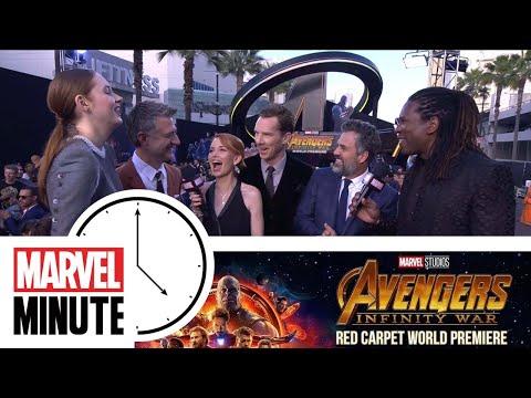 The Return of Marvel Minute -- Marvel Studios' Avengers: Infinity War Red Carpet World Premiere