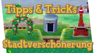 TIPPS \u0026 TRICKS: ANIMAL CROSSING - Stadtverschönerung / Quallentrick