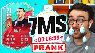 SWEET REVENGE ON ANDY! THE 7 MINUTE SQUAD BUILDER PRANK 91 FUT BIRTHDAY BALE - FIFA 20 ULTIMATE TEAM