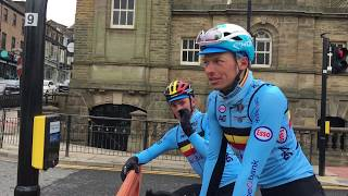 Behind the scenes with the Belgian team on the 2019 Yorkshire World Championships course