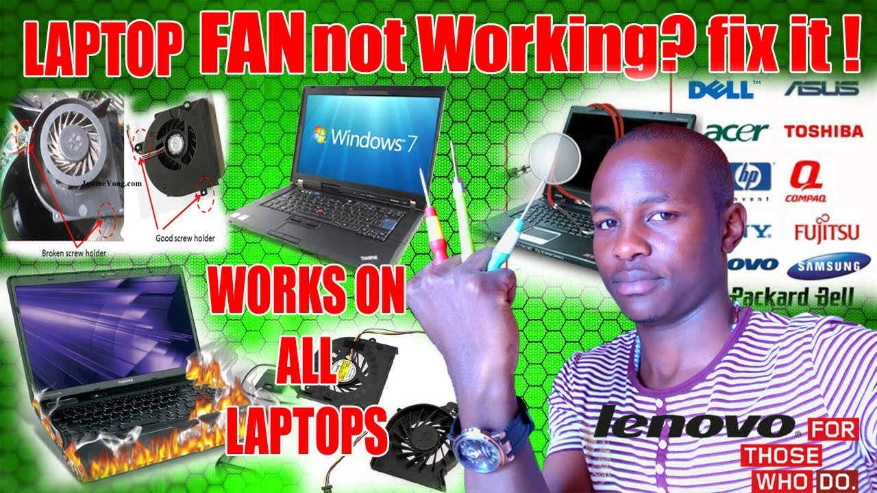 HOW TO quickly fix Cooling fan, (Fan Error) Lenovo