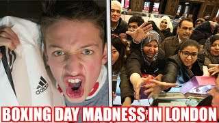 BOXING DAY MADNESS WITH THOGDEN 🔥 **LONDON VLOGGING**