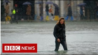 The fight to stop Venice from flooding - BBC News