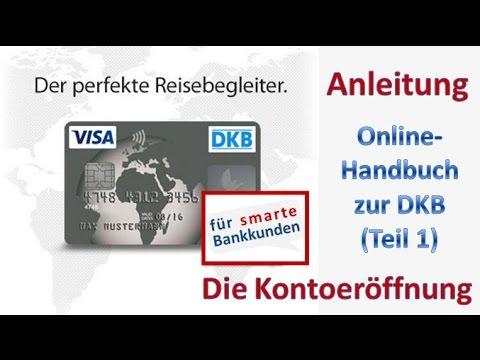Kontoeröffnung bei der DKB ► Anleitung