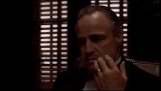The Godfather opening scene english subtitles