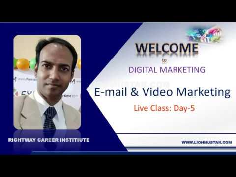 Digital Marketing Training| Day-5 | Free Class | Video Marketing & Email Marketing | Lion Mustak