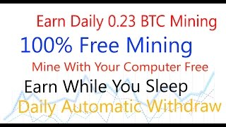 Free 0.23 Btc Daily With Minergate Cryptocurrency GUI Miner And Mining Pool Free Btc Mining Software