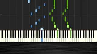 Avicii - You Make Me - PIano Tutorial by PlutaX - Synthesia