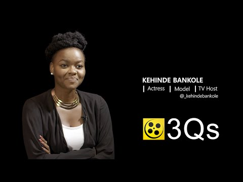 Kehinde Bankole: Actress | Model | TV Host | #3Qs