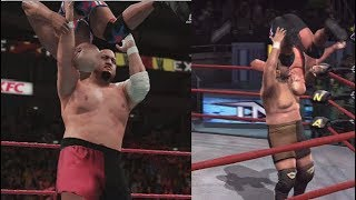WWE 2K18 Vs TNA Impact