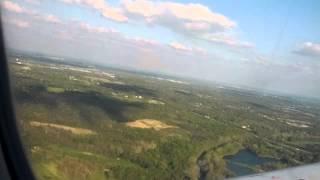 Landing in Dayton Ohio