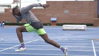 Workout Wednesday: Grant Holloway Does Three Workouts In One Session