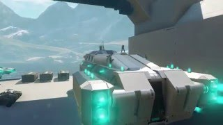 Halo 5 Forge | S.M.I. Cargo Runner (Detailed Aesthetic Custom Ship)