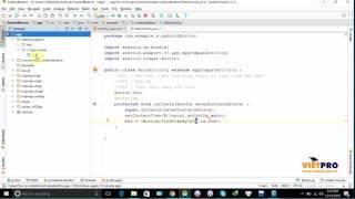 Android cơ bản 21 - AndroidButton (P.4) - Học Lập Trình Android Miễn Phí