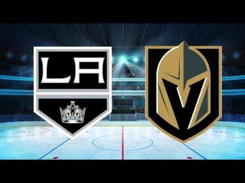 Los Angeles Kings vs Vegas Golden Knights (1-2 OT) – Apr. 13, 2018   Game Highlights   NHL 2018