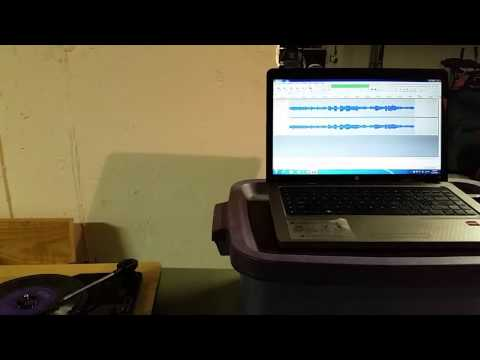 Vinyl/45 Record to CD/digital MP3 Conversion Sample (using Ion Archive LP USB Turn Table)
