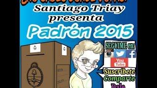 Padrón 2015 #TriaySantiago