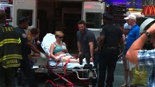 Des témoins racontent l'accident sur Times Square