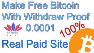 How To Earn Free Bitcoin With Withdraw Proof In Hindi/Urdu