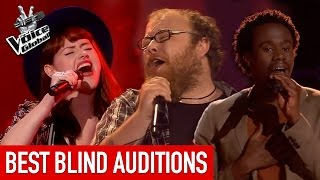 These AMAZING VOICES made all coaches turn | The Voice Global