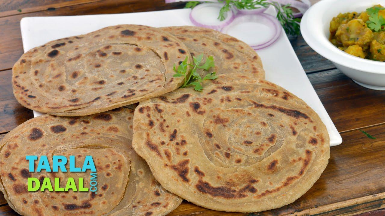 Download Lachha Paratha Recipe/ Whole Wheat multi Layered Indian Bread by Tarla Dalal