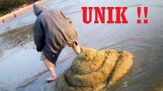 Unik !! makhluk hidup ciptaan Tuhan yang sempurna berbuat aksi konyol