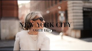 OUTFIT DIARIES // What I Wore in New York City // Fashion Mumblr