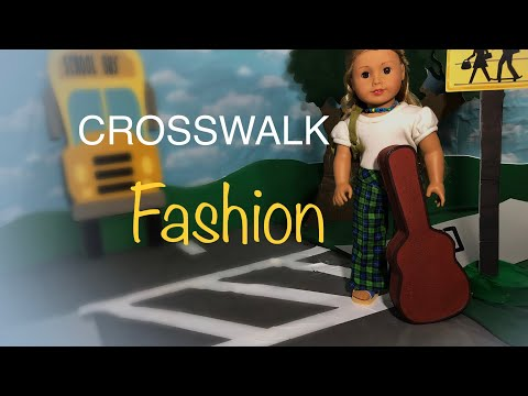 Crosswalk Fashion presented by Happy Threads Girl circa 1974