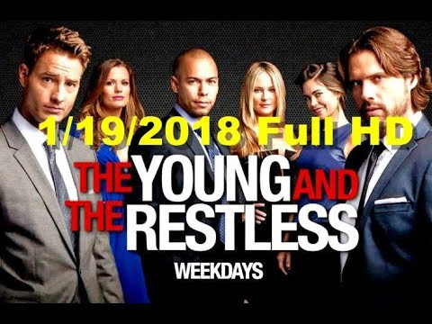 The Young And The Restless Friday 1/19/2018 Full HD