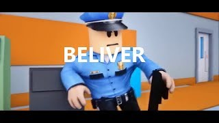 PRISON ESCAPE ♪ Beliver ♫ Roblox Animation-Music and animations