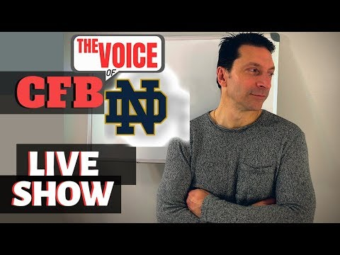 Notre Dame Fighting Irish LIVE 2 / 2020 SCHEDULE PREVIEW, BIG GAME CHOKES