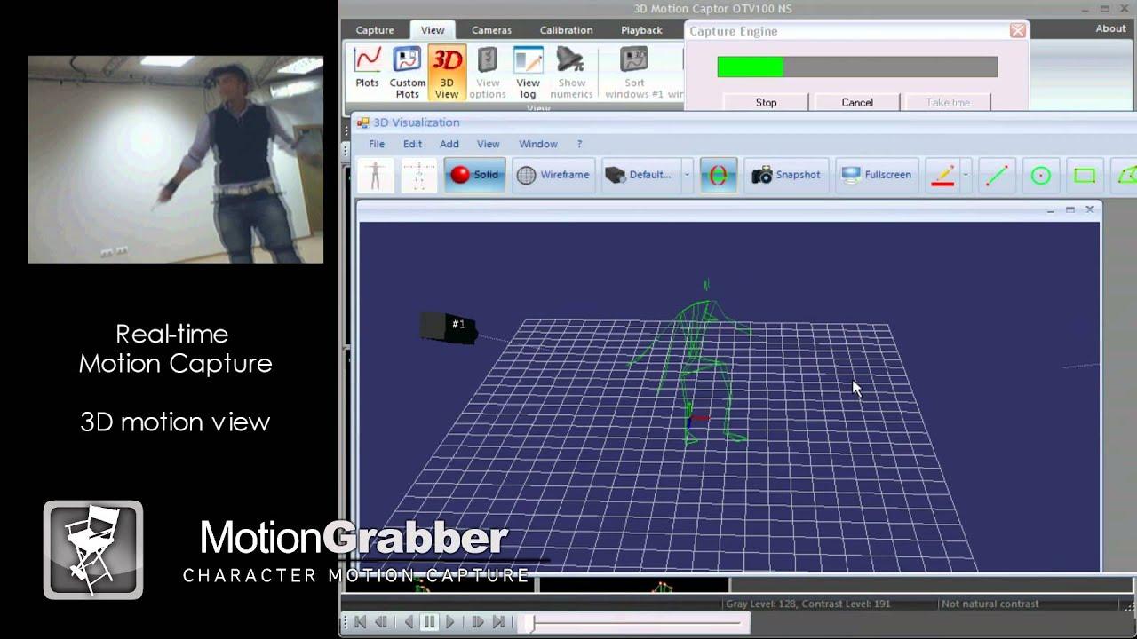 Motion Grabber STT Mocap