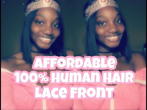 Model Model Premium 100% Human Hair Lace Front Wig - Sweet Pea Review Part 1