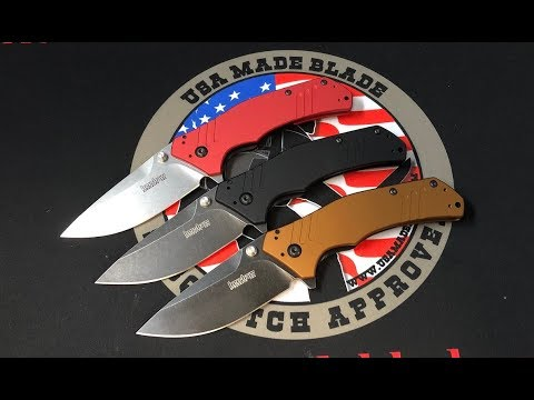 Newest Kershaw M390 USA Made Blade Exclusive