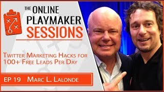 👨🏫 Online Profit Playbook featuring Playmaker Marc Lalonde aka The Wealthy Trainer!