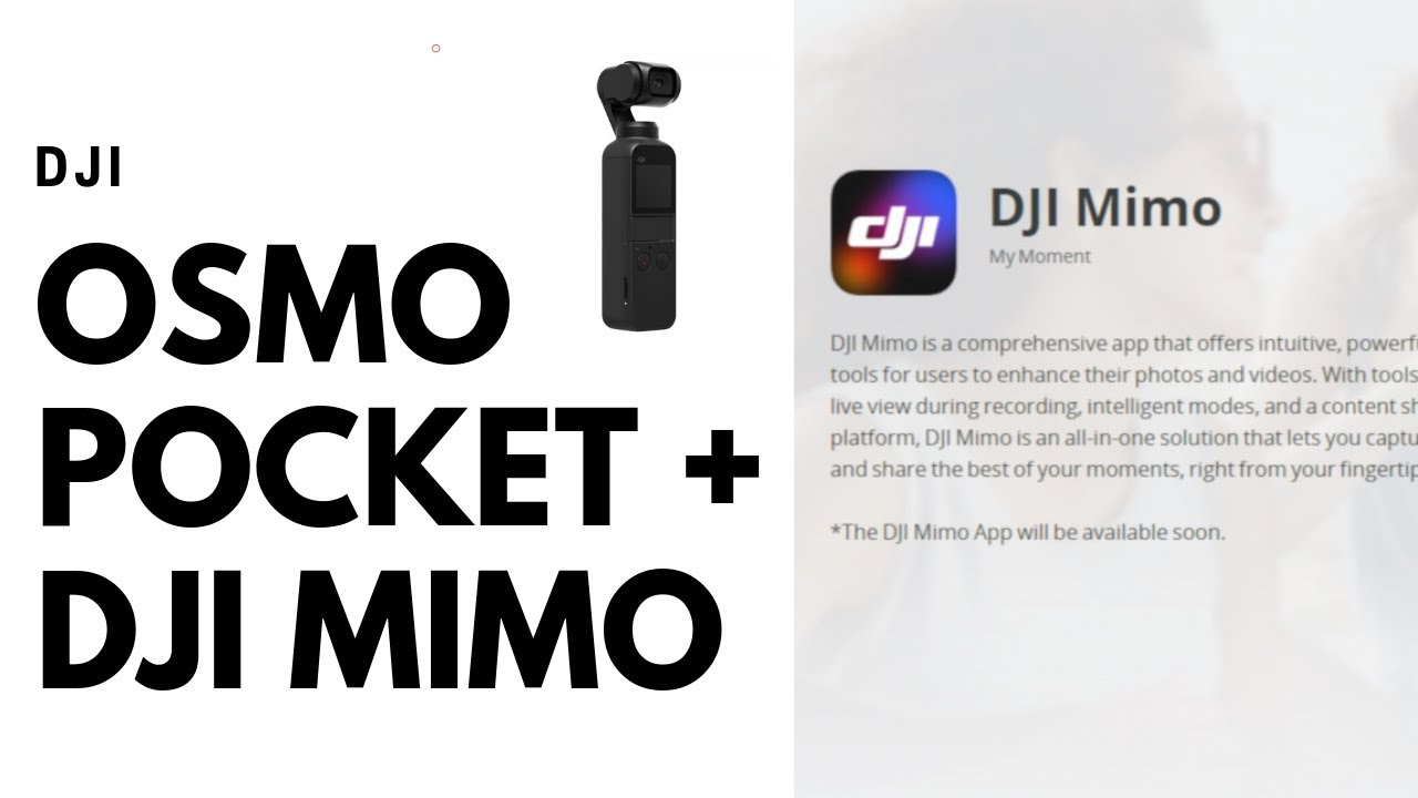 Review DJi Pocket And Dji Mimo App - Is It Worth It? - #djiosmopocket  #djimimo