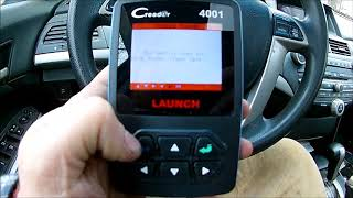 Launch Tech Creader 4001 OBD 2 Scanner