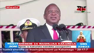 Rais Kenyatta na Naibu wake William Ruto wazungumzia Maendeleo nchini