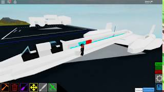 | Roblox Thai| Plane Crazy how to make plane SR-17 BlackBird [Tutorial]
