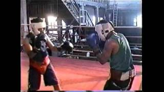 Boxing Sparring 2002:amador And Gerson