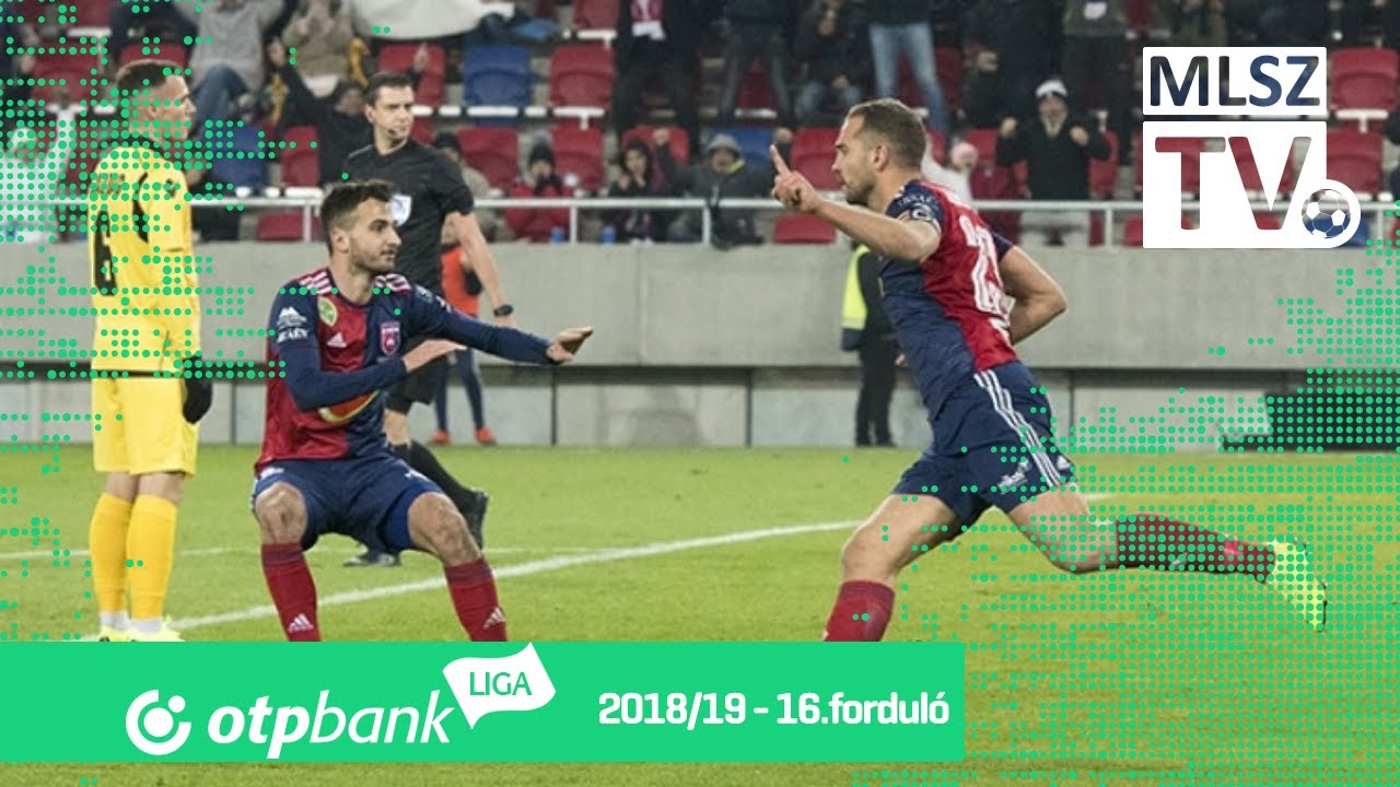 Mol Vidi FC – Budapest Honvéd | 2-0 | (1-0) | OTP Bank Liga | 16. forduló | MLSZTV
