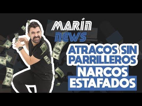 🗞 MARÍN NEWS 12 - ATRACOS SIN PARRILLEROS - NARCOS ESTAFADOS | Iván Marín 📰