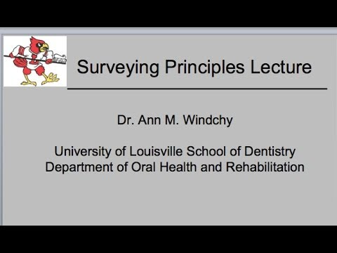 Surveying Principles Lecture #9