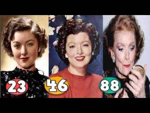 Myrna Loy ♕ Transformation From 06 To 88 Years OLD