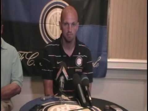 Esteban Cambiasso of Inter Milan on US Soccer and MLS