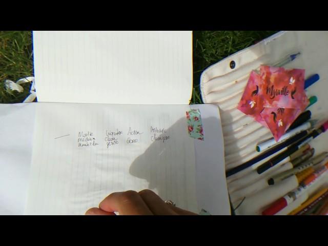 Bible journaling Page prep vergelijk