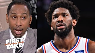 Stephen A. picks the 76ers to win the East | First Take